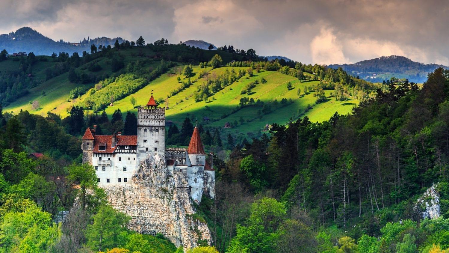 Bran Castle, Bran, Romania 3-min