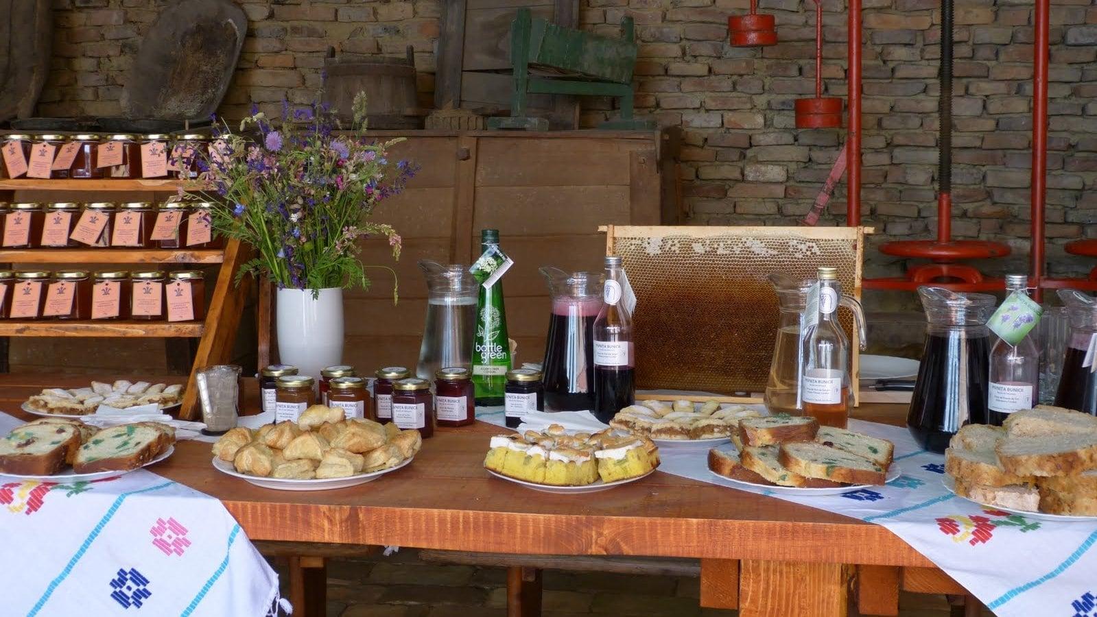 Local Products Tasting, Saschiz 1-min