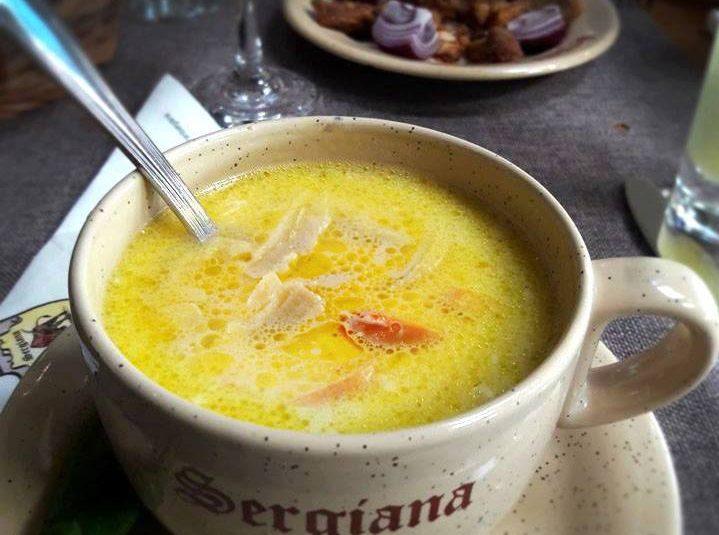 Sergiana Restaurant - Brasov - Beef Belly Soup