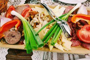 Sergiana Restaurant - Brasov - Cold Platter