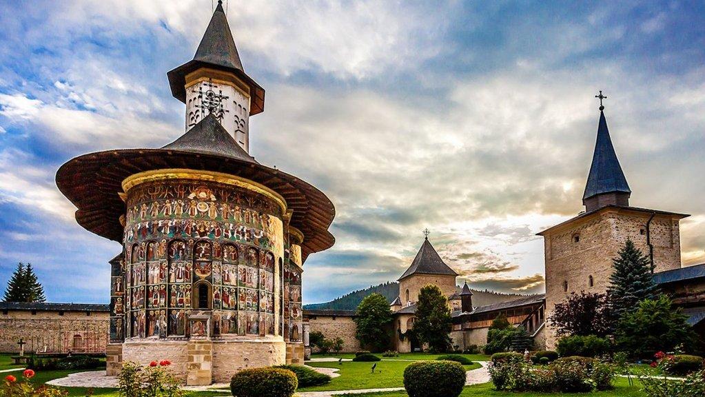 Sucevita Monastery, Suceava-min