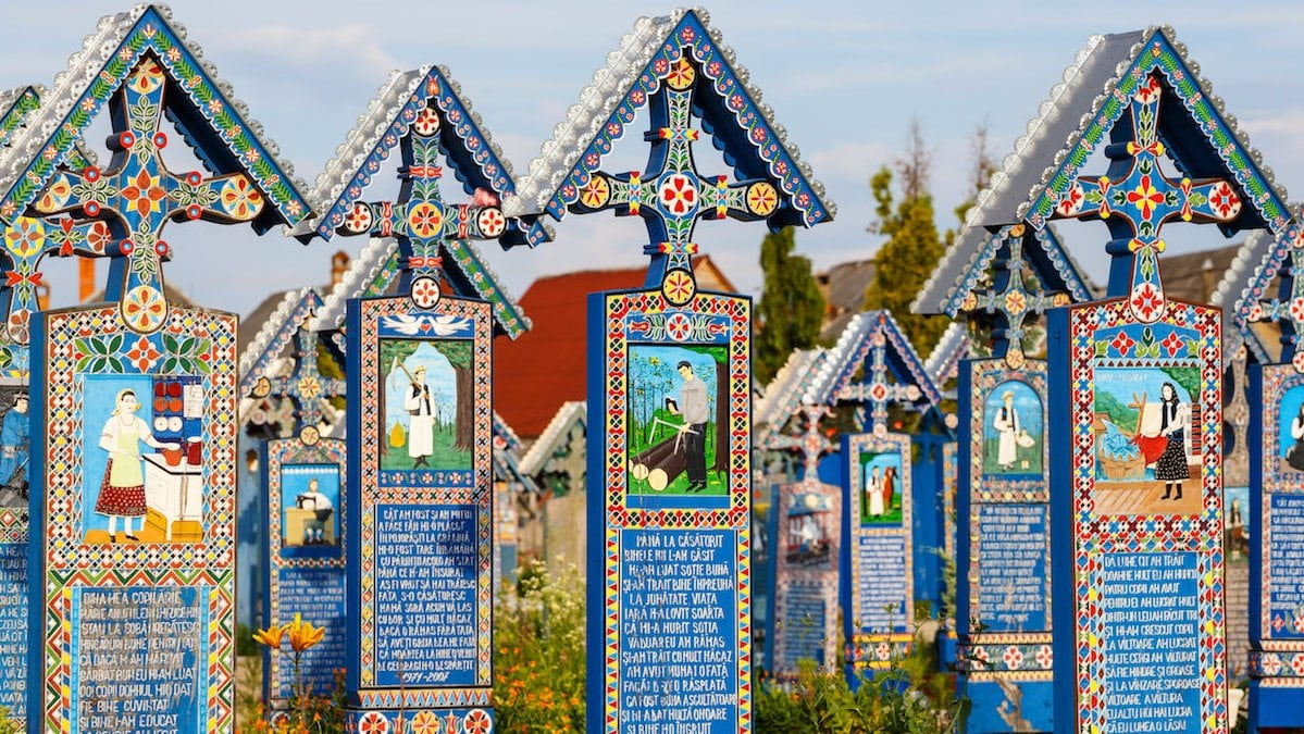 The Merry Cementery, Sapanta-min