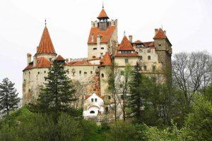 Bran Castle also known as Dracula Castle, Bran, Romania