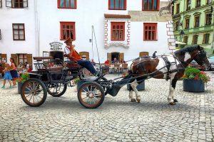 Horse Carriage - Sighisoara