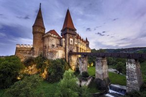 Hunyad Castle also known as Corvin Castle, Hunedoara, Romania