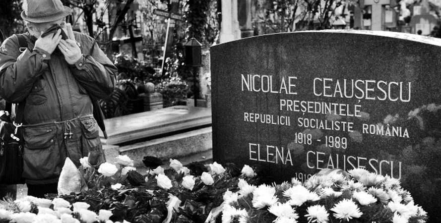 Nicolae Ceausescu_s grave