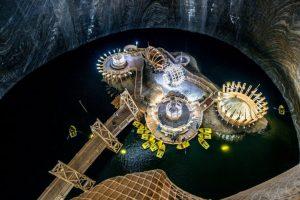 Turda Salt Mine, Turda, Romania