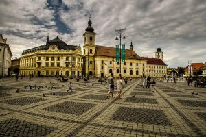 Large Square, Sibiu, Romania