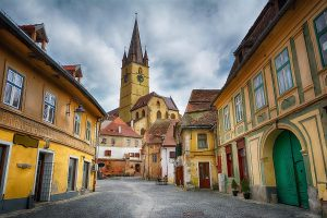 Old Town, Sibiu, Romania