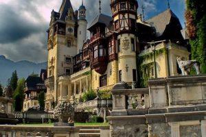 Peles Castle Exterior, Sinaia Romania
