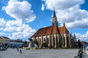 St. Michael's Cathedral, Cluj Napoca, Romania