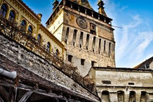 The Clock Tower, Sighisoara, Romania
