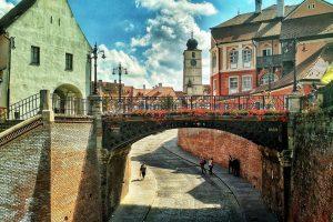 The Liars Bridge, Sibiu, Romania